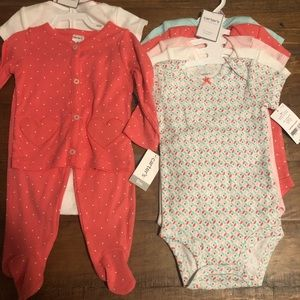 2 Carter's sets (all matching)